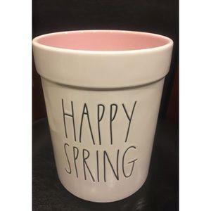 Rae Dunn Happy Spring Utensil Holder